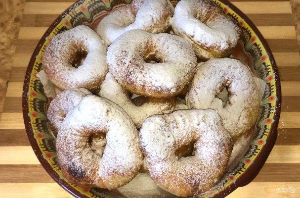 Пончики на закваске