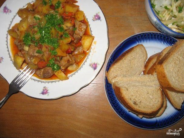 Рецепты пошагово жаркое на сковороде