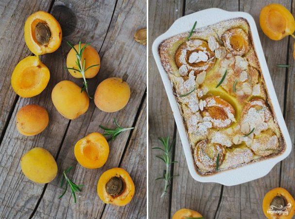Кекс с абрикосами