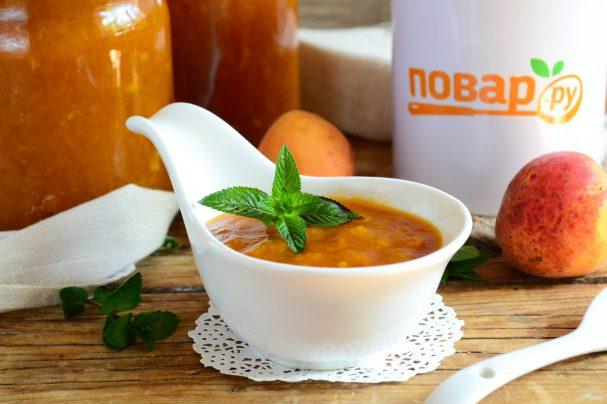 Абрикосовый джем с апельсином на зиму