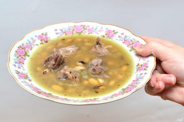 Суп из окорока