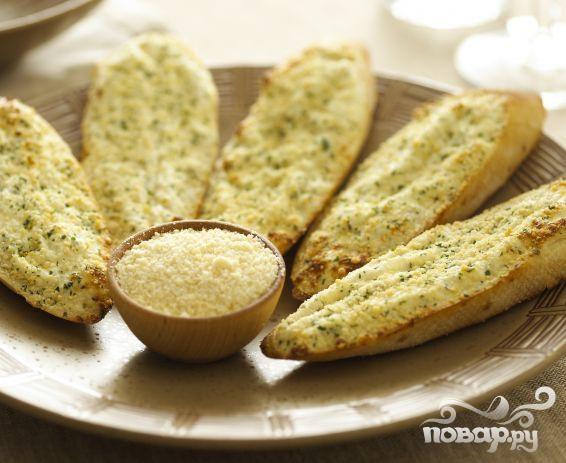 Чесночные хлебцы с сыром