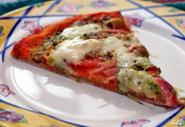 Пицца классическая рецепт