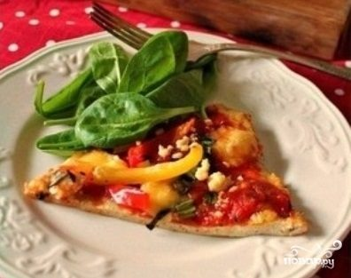 Диетическое тесто для пиццы