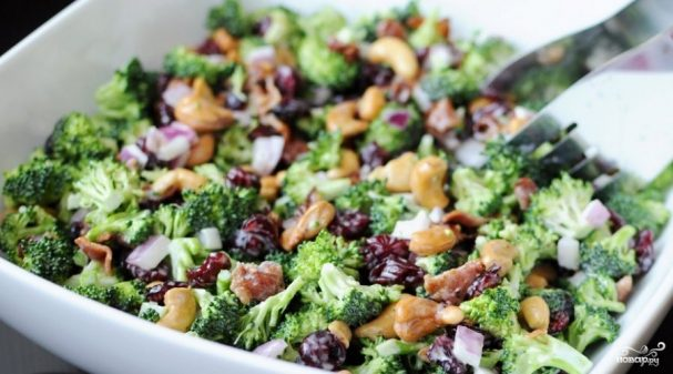 салат из брокколи рецепты с фото