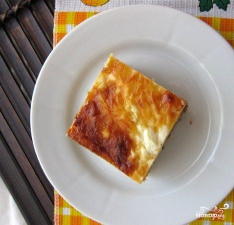 Запеканка картофельная с печенью