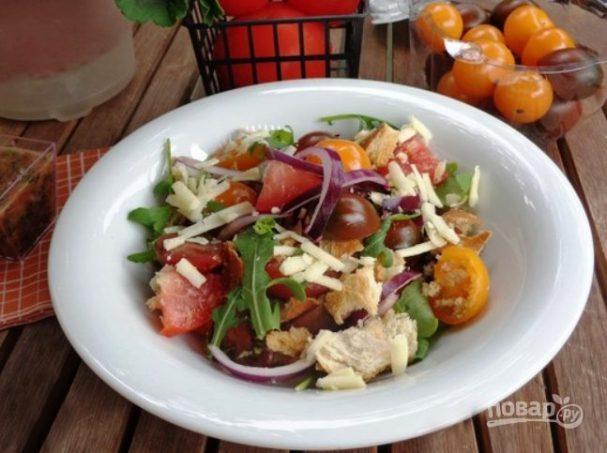 Салат тосканский