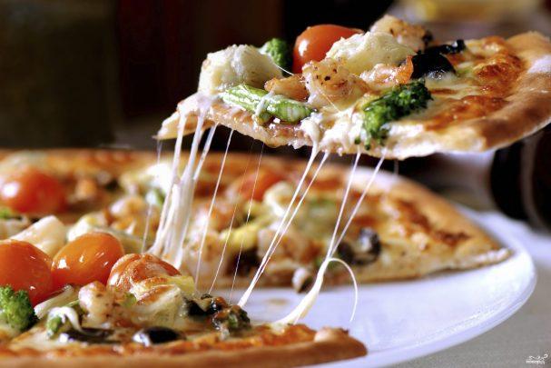 Рецепт тонкого теста для пиццы 45