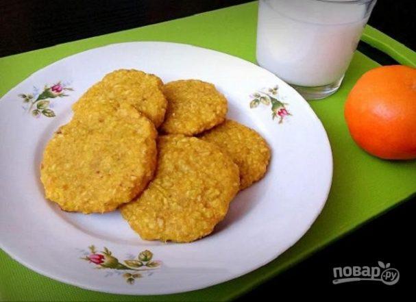 Овсяное печенье домашнее