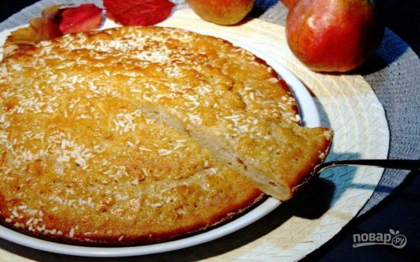 Пирог с грушами и рикоттой