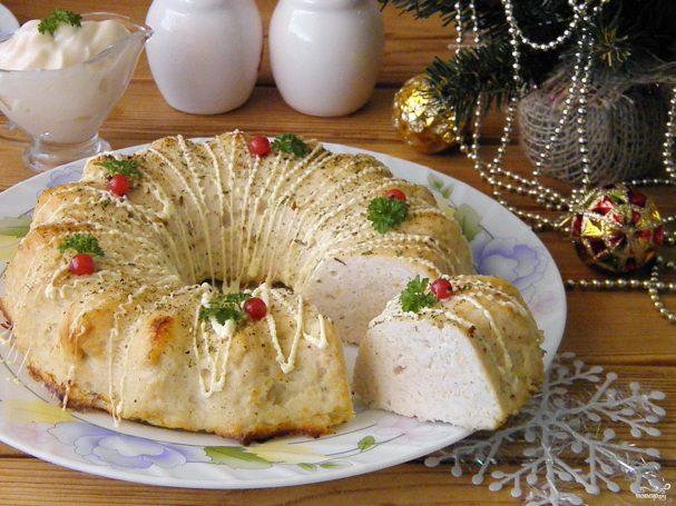 куриное суфле раскладка рецепт с фото