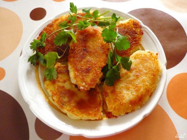 Картофельные зразы с мясным фаршем пошаговый рецепт