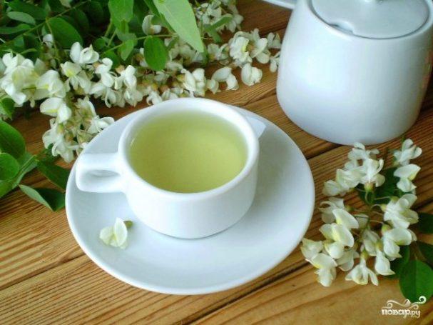 Чай из акации