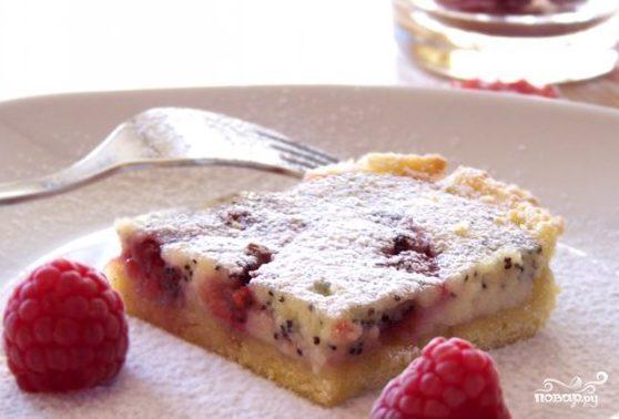 Пирог с вареньем и творогом в духовке рецепт пошагово в