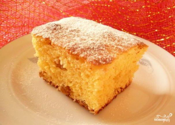 Пирог из кукурузной муки на кефире