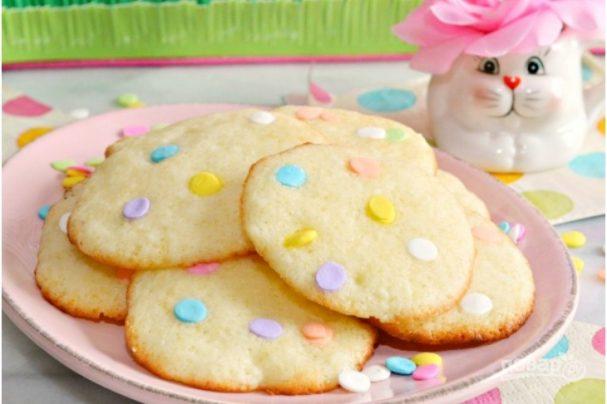 Творожные печенье