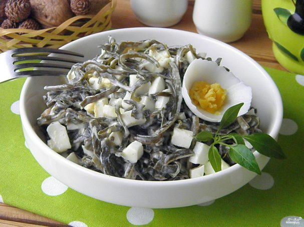 салат из морской капусты с яйцом рецепт с фото