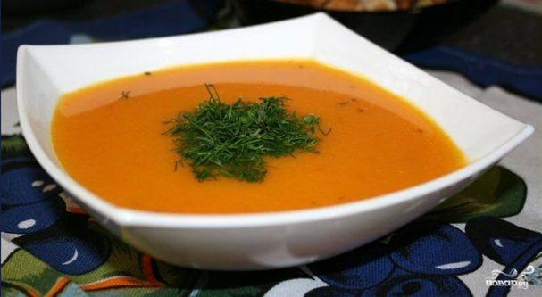 Суп из тыквы для похудения