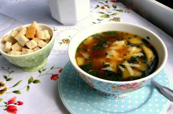 Тюрингский луковый суп