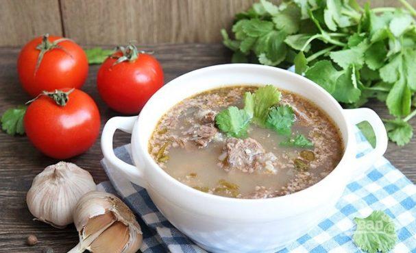 рецепт суп харчо от поваров