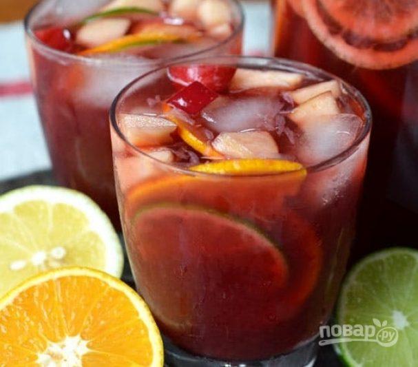 Безалкогольный коктейль с соком