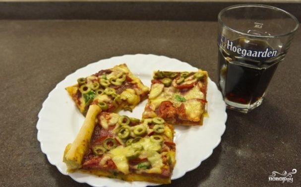 Тесто для итальянской пиццы