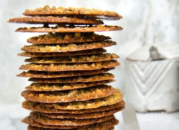 Флорентийское ореховое печенье