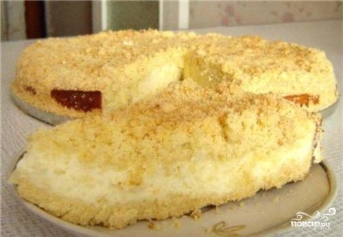Торт рассыпчатый