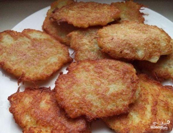 Драники картофельные постные