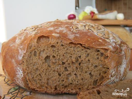 Воздушный хлеб в духовке