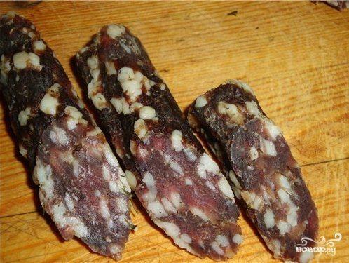 Сыровяленая колбаса в домашних условиях рецепт