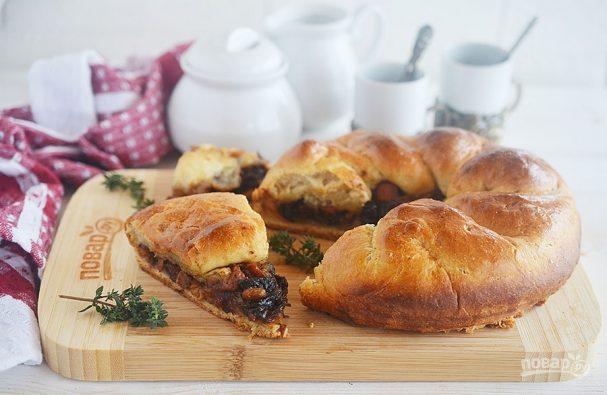 Пирог с говядиной и беконом из Винтерфелла