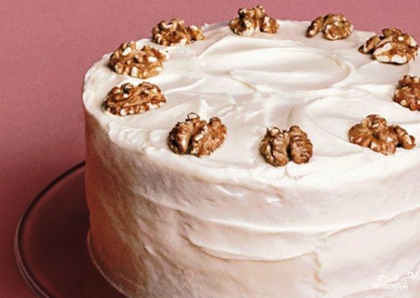 Белая глазурь для торта
