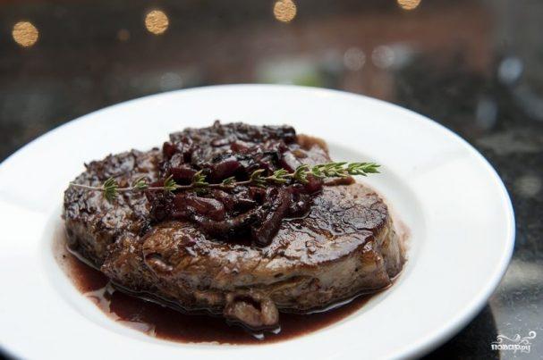 Мясо в вине