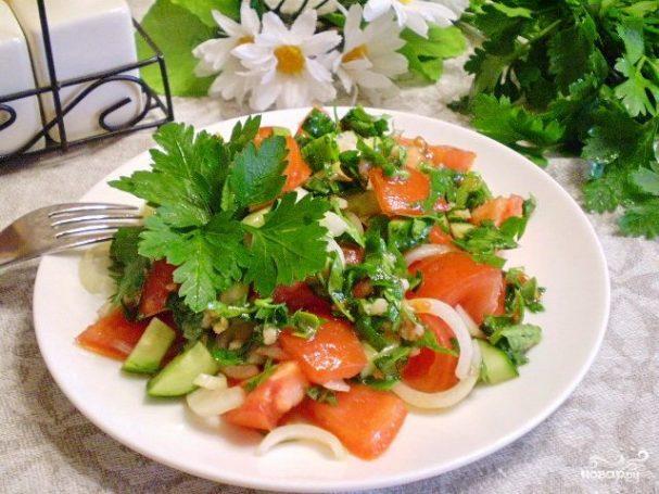 Салат к шашлыку