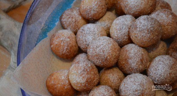 Пончики из детства