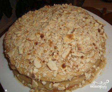 Торт-минутка на сковороде