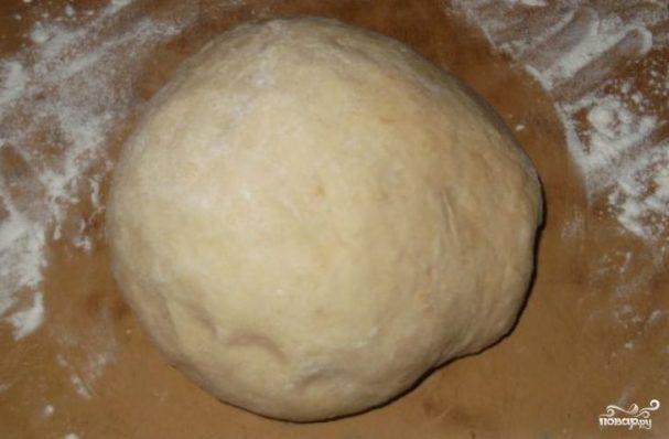 Заварное тесто для пиццы
