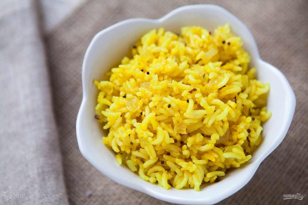 Пряный рис