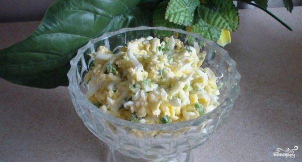Салат из плавленых сырков