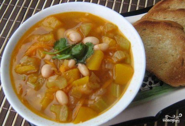 суп фасолевый рецепт простой рецепт с фото