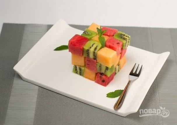 Оригинальный фруктовый салат