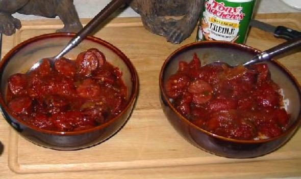 Креольские сосиски