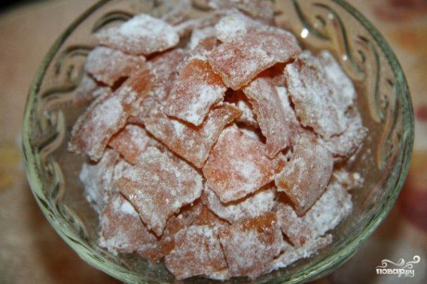 Цукаты из мандариновых корок