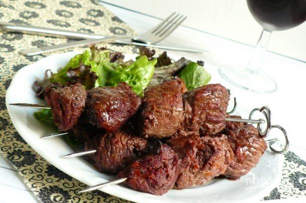 Шашлык из говядины (маринад)