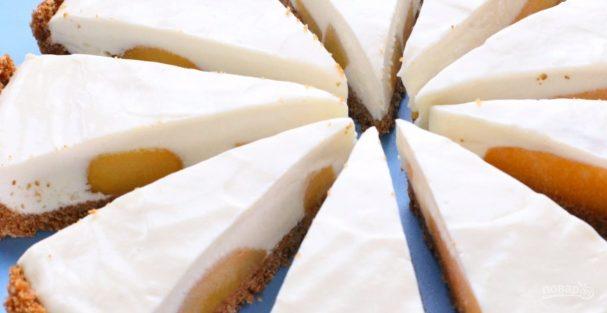 Торт без выпечки (чизкейк на скорую руку)