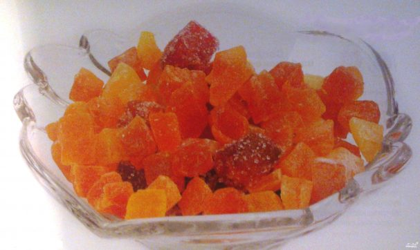Цукаты из моркови