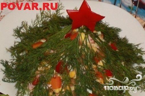 """Торт """"Елочка гори"""""""