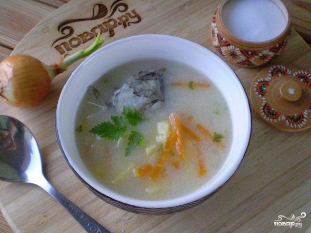 суп из рыбных голов рецепт с рисом