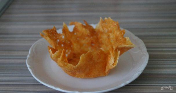 Тарталетки из сыра